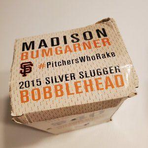 Accents - Madison Bumgarner Silver Slugger Bobblehead 2015